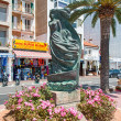 Statue in Lloret de Mar Spain — Stock Photo #17185435