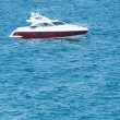 Stock Photo: Speedboat at sea