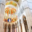 Almudena cathedral inside — Stock Photo