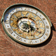 Royalty-Free Stock Photo: Astronomical clock on wall City Hall