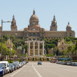 National Palace of Barcelona - Stockfoto