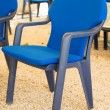 Royalty-Free Stock Photo: Blue chairs