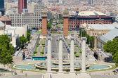 Spania square in Barcelona Spain — Stock Photo