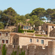 Tossa de Mar Catalonia - Stock Photo