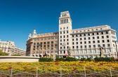在西班牙的建筑 — 图库照片