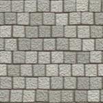 Pavement grey pebble — Stock Photo