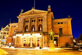National theater Oslo — Stock Photo