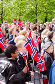 Parade in Oslo on 17th may — Stock Photo