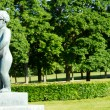 Oslo Vigeland Park Girl — Stock Photo