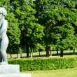 Oslo Vigeland Park Girl - Stock Photo