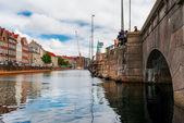 Copenhagen Kanal — Stock Photo