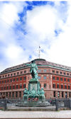 Statue of admiral Niels Juel in Copenhagen — Stock Photo