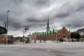 Former stock exchange building in Copenhagen — Stock Photo