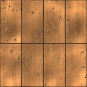 Metal panels rusted gold — Stock Photo