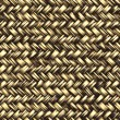 Stock Photo: Seamless computer generated high quality woven basket twill yell