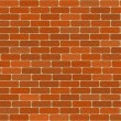 Brick wall texture background seamless cgi red — Stock Photo #25843183