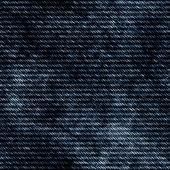 Seamless high quality dark blue jean texture — Stock Photo