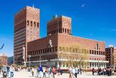 Oslo City Hall — Stock Photo