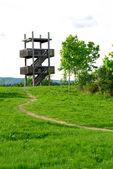 Obserwowanie ptaków wieża — Zdjęcie stockowe