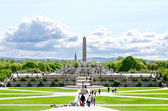 Sculptures in Vigeland park Oslo Norway — Stock Photo