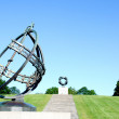 Sundial at Frogner Park Oslo Norway — Stock Photo