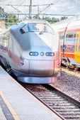 Flytoget train — Stock Photo