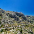 Mountain road on Mallorca — Stock Photo