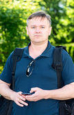 мужчина среднего возраста — Стоковое фото