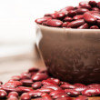Bowl with red beans — Stock Photo #42344033