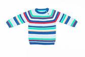 Kids striped sweater — Stock Photo