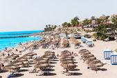 Send beach at Adeje Tenerife Spain — Stock Photo