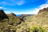 Road to Maska Spain Tenerife Island — Stock Photo