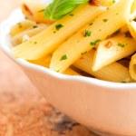 Penne pasta with pesto — Stock Photo #45843981