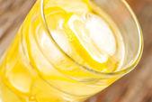 Glass of lemonade — Stock Photo