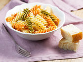 Spiral pasta with cheese — Photo
