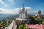 The Temple Expiatori del Sagrat Cor — Stock Photo