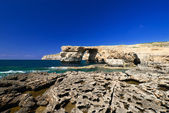 Azure Window on Gozo — Stock Photo