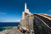 Marfa Harbour Malta brick wall — Стоковое фото