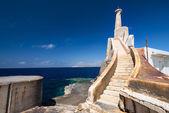 玛法海港马耳他墙面砖 ; — 图库照片