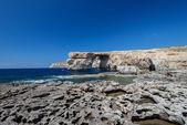 Azure Window on Gozo island — Stock Photo
