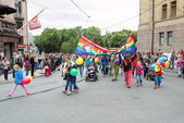 Europride parade in Oslo — Foto de Stock