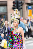 Europride parade in Oslo — Stock Photo