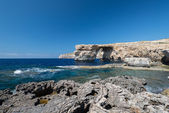 Azure Window natural arch — Stock Photo
