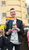 Young gay man — Stockfoto