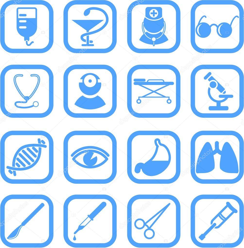 depositphotos_7848941-Medical-icons.jpg (1003×1023)   Medical ...