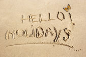 Concepts and ideas for holidays background — Stock Photo