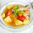 Chicken Soup Food For Healthy — Stock Photo