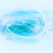 Blue Abstract Technology Background — Stock Photo