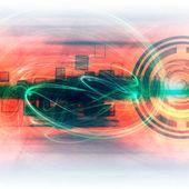 Energy Light Futuristic Background — Stock Photo