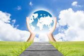 Earth Day Concept — Stock Photo